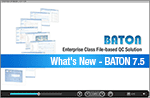 What's new in BATON 7.5