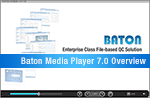 Baton Media Player 7.0 Overview